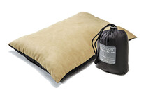 Cocoon Air-Core Pillow large khaki/charcoal